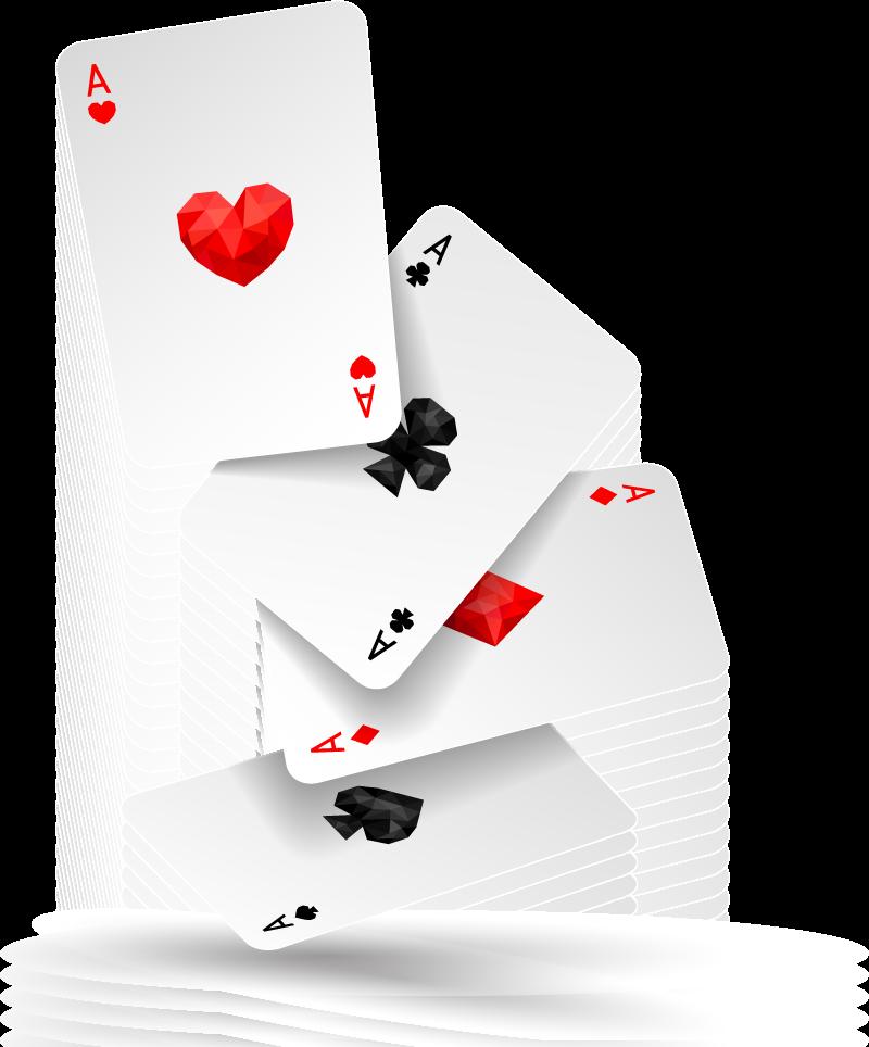 Normales Kartenspiel